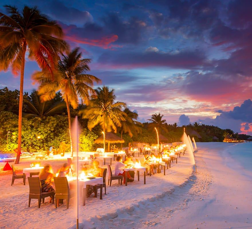 Private Island Beaches: Conrad Maldives Rangali Island Resort