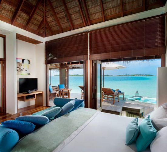 Undersea Villa The Muraka Conrad Maldives Rangali Island Luxury