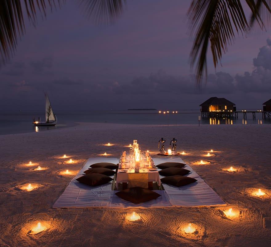 Private Beach Dining