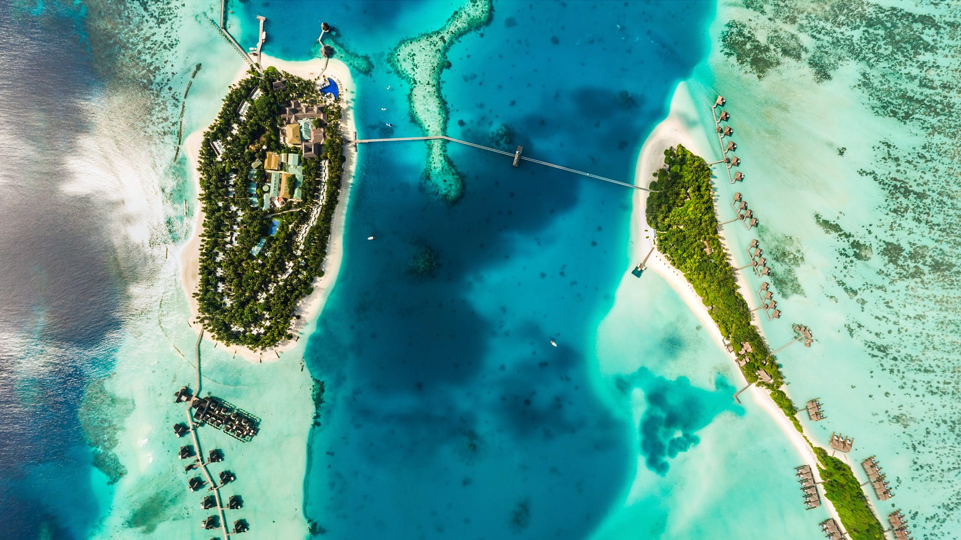 Map Conrad Maldives Rangali Island Luxury Resort Spa