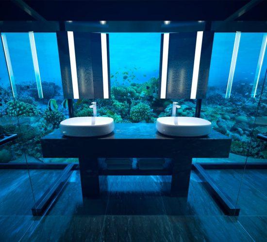 Undersea villa the muraka conrad maldives rangali for Hotel conrad maldivas islas rangali