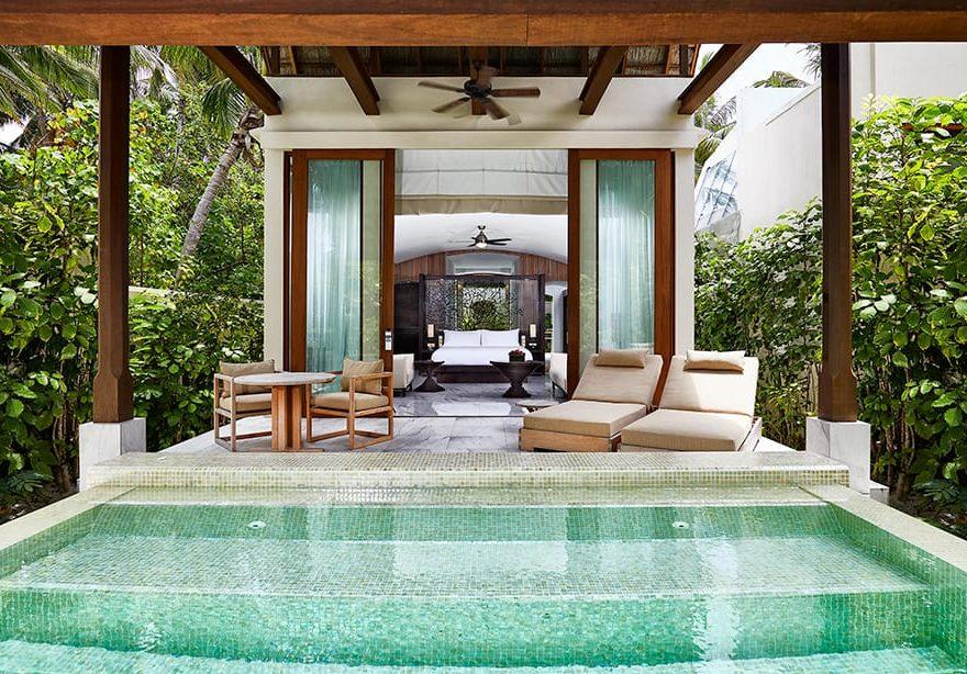 Deluxe Beach Villa external