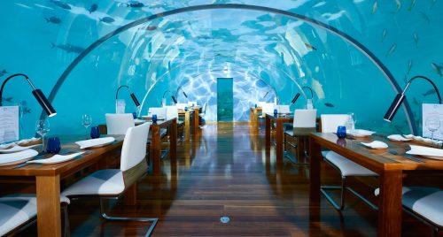 Ithaa Undersea Restaurant Conrad Maldives Rangali Island Dining