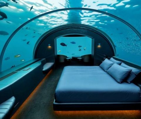 Dormir en las profundidades: 9 hoteles geniales bajo el agua