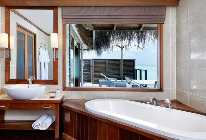 Superior Deluxe Water Villa bathroom