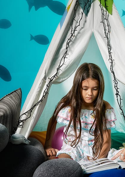 Glamping with the Fishes